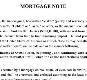 Mortgage-Note-FL11